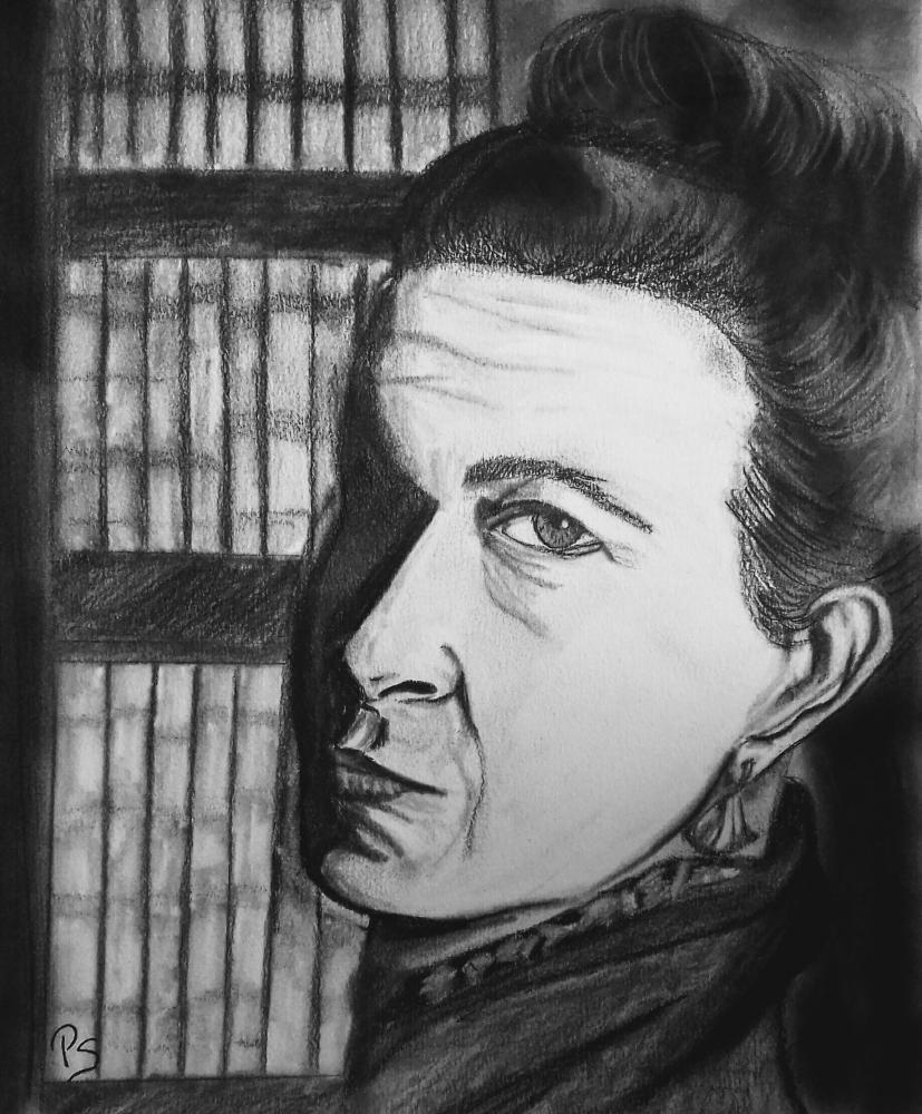 Simone de Beauvoir par PenStilos
